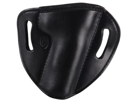 El Paso Saddlery #88 Street Combat Outside the Waistband Holster Right Hand 1911 Government Leather Black