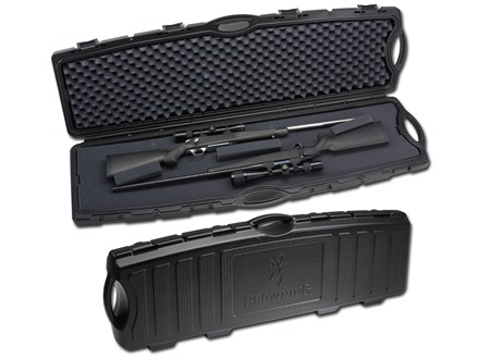 "Browning Bruiser Double Rifle Case 54"" Polymer Black"