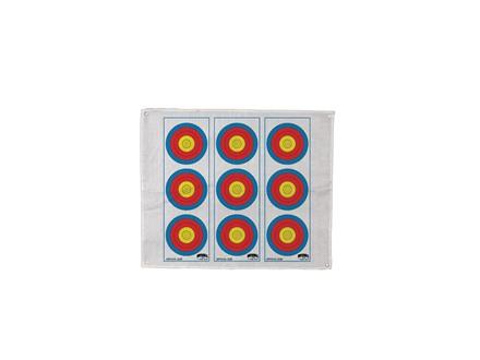 Morrell Polypropylene Archery Target Face Vertical 3 Spot