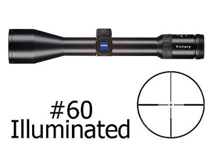 Zeiss Diavari VM/V Rifle Scope 30mm Tube 2.5-10x 50mm First Focal Illuminated #60 Reticle Matte