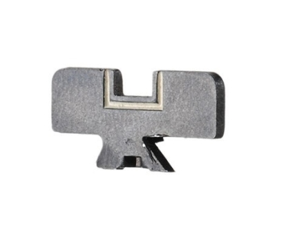 Ruger Rear Sight Blade High with White Outline Notch Ruger Super Redhawk 44 Remington Magnum