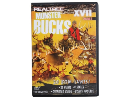 Realtree Monster Bucks 17 Volume 2 Video DVD