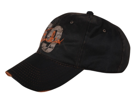 Tink's Distressed Embroidered Logo Cap Cotton Brown