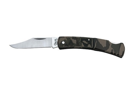 "Case Caliber Folding Knife 2.75"" Clip Point Stainless Steel Blade Zytel Handle"
