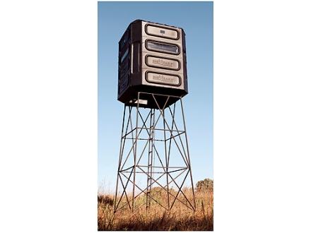 Big Game The Quad Pod Extender Box Blind Elevator Steel Black