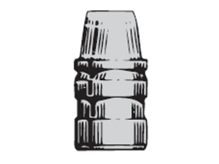 Saeco 3-Cavity Bullet Mold #388 38 Special, 357 Magnum (358 Diameter) 158 Grain Semi-Wadcutter Bevel Base