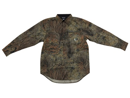 Mossy Oak Apparel Men's Cape Back Long Sleeve Shirt