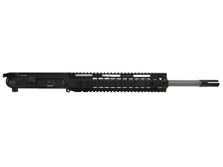 "Noveske AR-15 Recon A3 Flat-Top Upper Assembly 6.8mm Remington SPC II 1 in 12"" Twist 16"" Barrel Stainless Steel with 11"" Quad Rail Handguard, AAC Blackout Flash Hider"