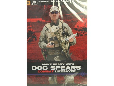 "Panteao ""Make Ready with Doc Spears: Combat Lifesaver"" DVD"