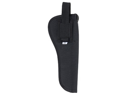 "Soft Armor Belt Holster Ambidextrous Taurus Judge 6.5"" Nylon Black"