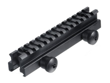 Leapers UTG Deluxe Medium Profile Picatinny-Style See-Thru Riser Mount AR-15 Flat-Top Matte