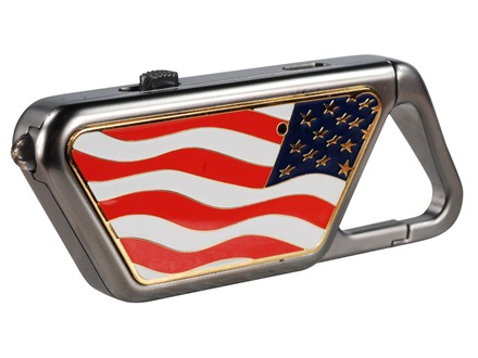 ASP Sapphire Flashlight LED USB Rechargeable Aluminum American Flag