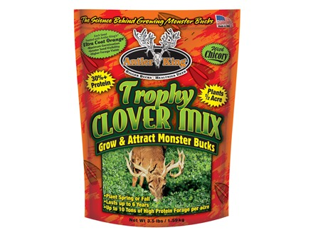 Antler King Trophy Clover Mix Perennial Food Plot Seed 3.5 lb