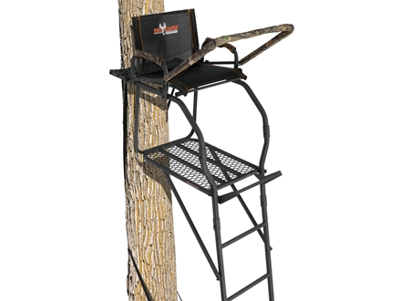 Big Game The Nextgen Stealth DX Single Ladder Treestand Steel Black