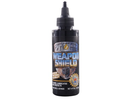 Steel Shield Weapon Shield Gun Oil 4 oz Liquid