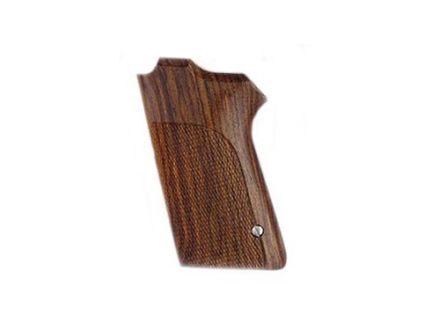 Hogue Fancy Hardwood Grips S&W 908, 3913, 3914 Checkered Cocobolo