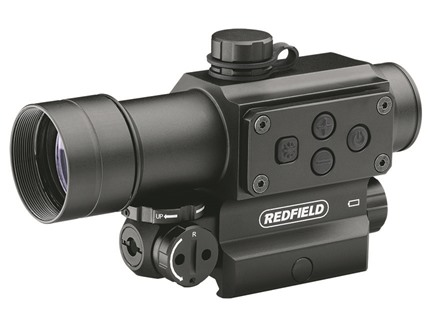 Redfield Counterstrike Tactical Red Dot Sight 30mm Tube 4 MOA Red and Green Dot with Integral Red Laser and Picatinny-Style Mount Matte
