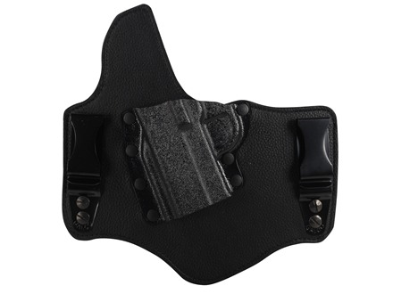 Galco King Tuk Tuckable Inside the Waistband Holster Left Hand 1911 Government, Commander Leather and Kydex Black