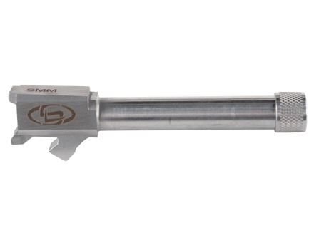 "Storm Lake Barrel Springfield XDM 9mm Luger 1 in 16"" Twist Stainless Steel 1/2""-28 Threaded Muzzle with Thread Protector"