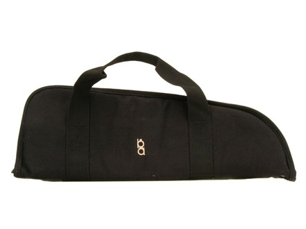 "Bob Allen Bison Pistol Case 18"" Canvas Black"