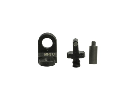 Meprolight Tru-Dot Sight Set AR-15 4-Dot Rear Peep Steel Blue Tritium Green