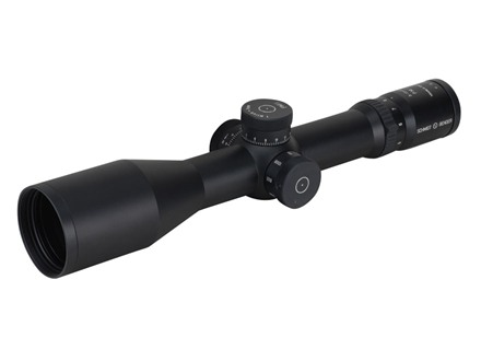 Schmidt & Bender Police Marksman 2 Rifle Scope 34mm Tube 3-12x 50mm Side Focus First Focal P-3 Mil-Dot Reticle Matte