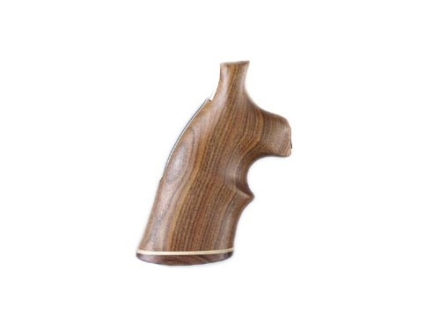 Hogue Fancy Hardwood Grips with Accent Stripe and Top Finger Groove Ruger Blackhawk, Single Six, Vaquero Pau Ferro