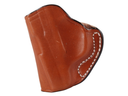 DeSantis Mini Scabbard Outside the Waistband Holster Left Hand Ruger LCP Leather Tan