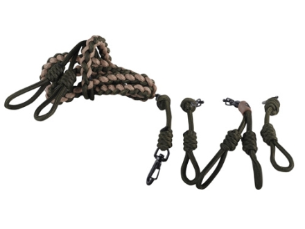 Avery Round Braid DIY Game Call Lanyard Foam Green and Field Khaki