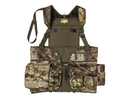 H.S. Strut Men's SUV Deluxe Turkey Vest Polyester Realtree APG Camo Medium/Large