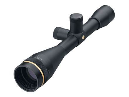 Leupold FX-3 Competition Hunter Rifle Scope 6x 42mm Adjustable Objective Target Dot Reticle Matte