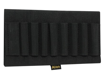 Allen Buttstock Rifle Ammunition Carrier 9-Round Elastic Black