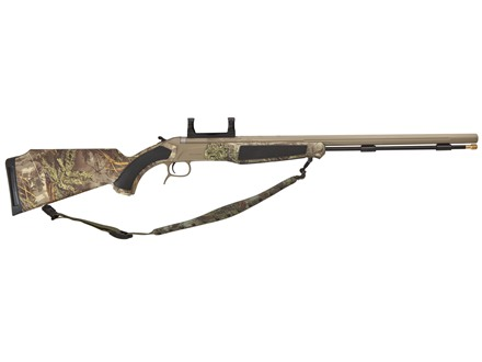 "CVA Accura MR Muzzleloading Rifle with Dead-On Scope Mount 50 Caliber 25"" Fluted Stainless Steel Barrel Synthetic Stock Realtree Max-1 Camo"
