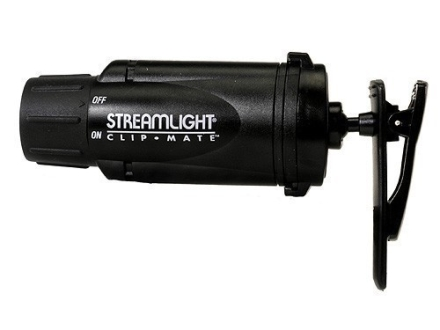 Streamlight ClipMate Flashlight White LED Polymer Black
