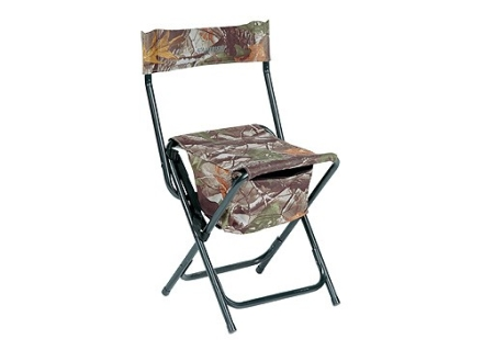Ameristep High Back Chair Steel Frame Black Nylon Seat and Back Realtree APG Camo
