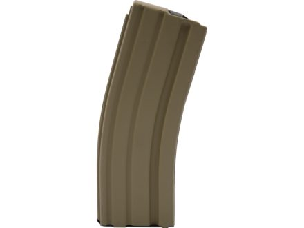 AR-Stoner Magazine AR-15 223 Remington 30-Round Curved Body with Anti Tilt Follower Stainless Steel Flat Dark Earth