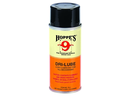 Hoppe's #9 Dri-Lube with Teflon 4 oz Aerosol