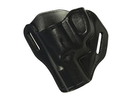 """Bianchi 58 P.I. Belt Slide Holster Smith and Wesson J frame 2"""" Leather"""