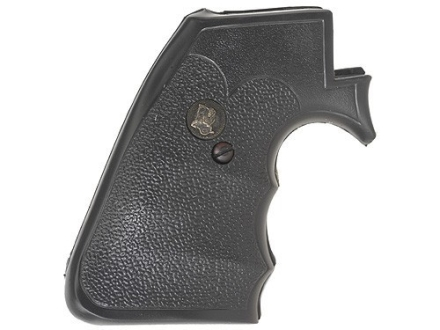Pachmayr Gripper Grips with Finger Grooves Ruger New Model Super Blackhawk Rubber Black