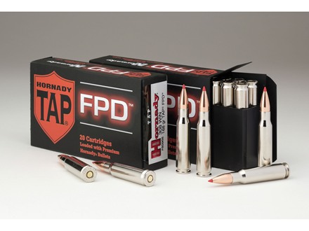 Hornady TAP Personal Defense Ammunition 308 Winchester 110 Grain Polymer Tip Point Box of 20