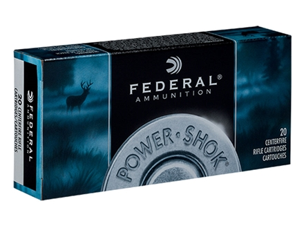 Federal Power-Shok Ammunition 25-06 Remington 117 Grain Speer Hot-Cor Soft Point Box of 20