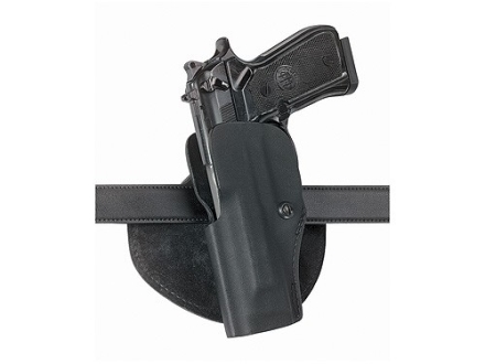 Safariland 5182 Paddle Holster Left Hand Beretta 92F, Taurus PT92C, PT99C, PT92 Polymer Fine-Tac Black