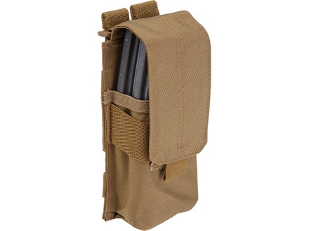 5.11 Stacked Single with Cover AR-15 Magazine Pouch Nylon