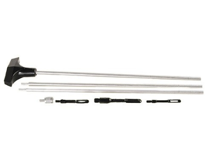 "Hoppe's 3-Piece Universal Rifle and Shotgun Cleaning Rod All Calibers and Gauges 33"" Stainless Steel 8 x 32 Thread"