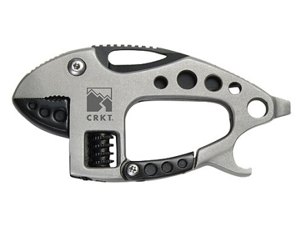 "CRKT Li'l Guppie Multi-Tool 1"" Stainless Steel Blade Stainless Steel Handle"