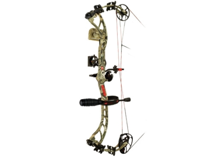 "PSE Bow Madness 3G RTS Compound Bow Package Right Hand 60-70 lb. 25""-30"" Draw Length Mossy Oak Break Up Infinity Camo"