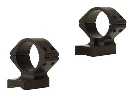 "Talley Lightweight 2-Piece Scope Mounts with Integral 1"" Rings Weatherby Magnum Matte Low"
