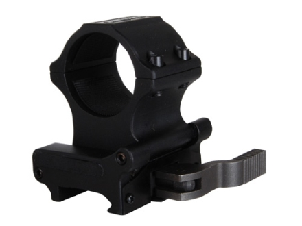 Sightmark Tactical Slide to Side Quick Detachable Weaver-Style Mount with Integral 30mm Ring Matte