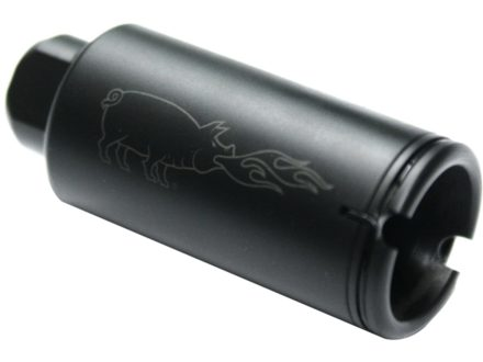 "Noveske Flash Hider KX3 Pig 5/8""-24 Thread AR-10, LR-308 Parkerized"