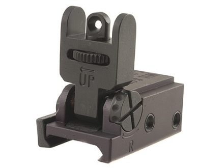 Wilson Combat Tactical Flip-Up Detachable Rear Sight AR-15 Flat-Top Matte
